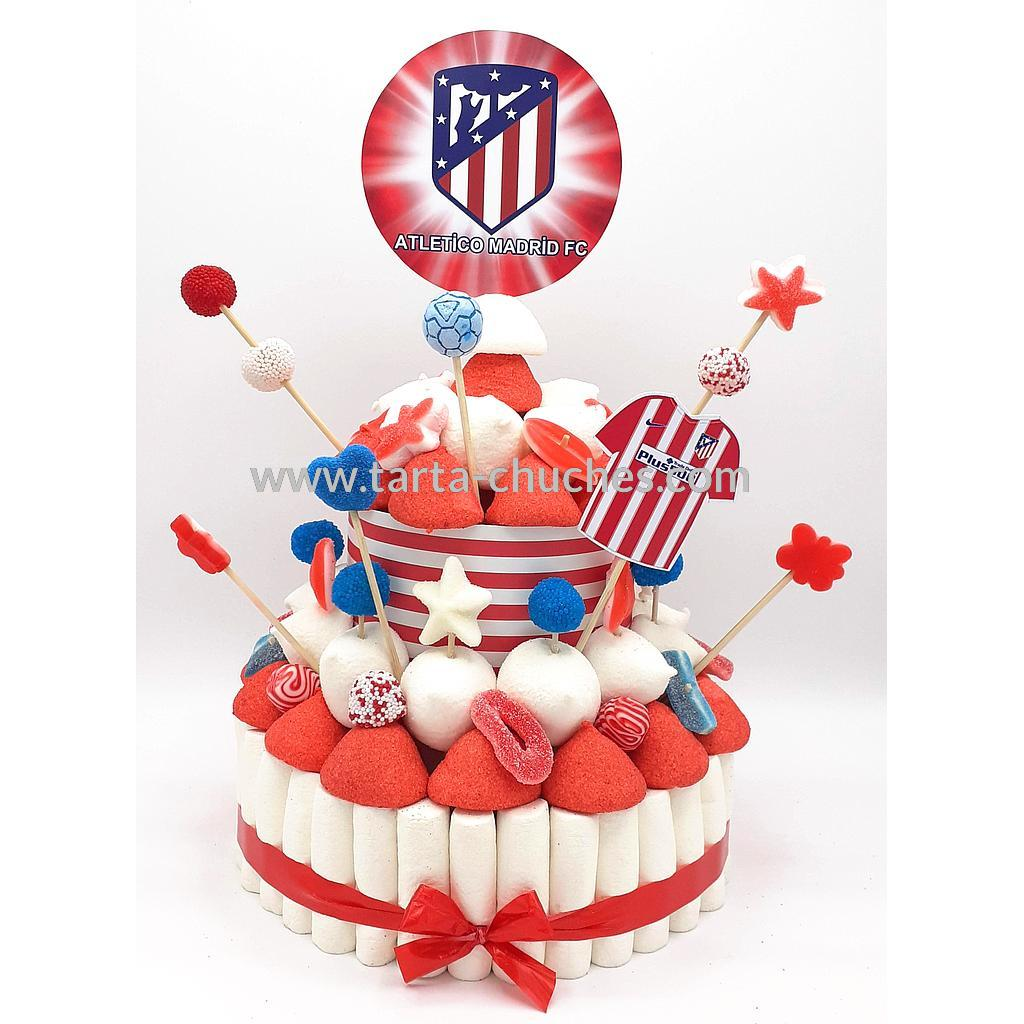 Tarta chuches mediana Atletico Madrid